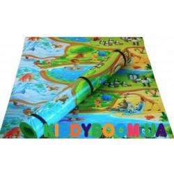 Детский мягкий коврик ЭхоКор Мадагаскар  (250 х 120 х 1.2 см)