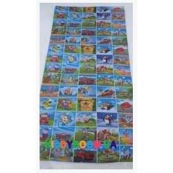 Детский мягкий коврик ЭхоКор Марки (200 х 100 х 0.8 см)