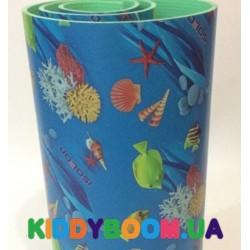 Детский мягкий коврик ЭхоКор Океан (200 х 110 х 0.8 см)