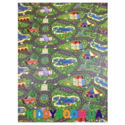 Детский мягкий коврик ЭхоКор Городок (200 х 110 х 0.8 см)