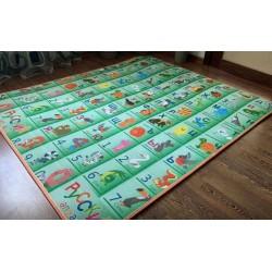 Развивающий коврик ЭхоКор Алфавит/Динозавры 150 х 180 х 1 см