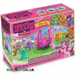 Игровой набор Площадка и 4 мини-фигурки Filly