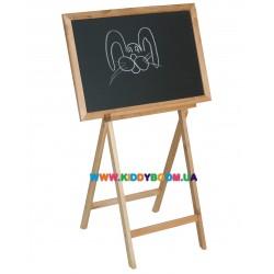 Детский мольберт деревянный Финекс Плюс 043