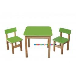 """Набор """"Эко"""" столик и 2 стульчика Финекс Плюс 091"""