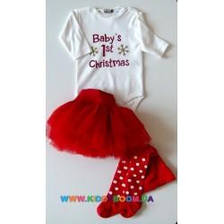 Комплект новогодний для девочки р-р 56-68 Bip collection 778056
