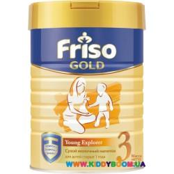 Сухой молочный напиток Friso Фрисолак 3 Gold 400 гр.