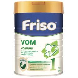Сухая молочная смесь (0-6 мес) 800 гр Friso VOM Comfort 1 с пребиотиками