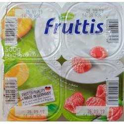 Йогурт Fruttis Абрикос и Малина 4х125гр.