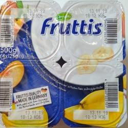 Йогурт Fruttis Персик-Груша и Банан (5,8%), 4х125гр
