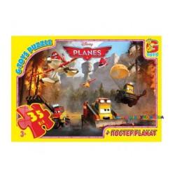 Пазлы Литачки тушат пожар, 35 элементов G-Toys A10608