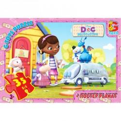 Пазлы Доктор Плюшева, 35 элементов G-Toys DP00641