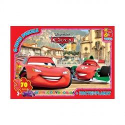 Пазлы Тачки в Италии, 70 элементов G-Toys Z10212