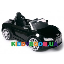Электромобиль Geoby Audi R8 Spider  W458QG Цвет 01 (черный)