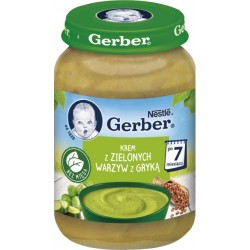 Пюре Gerber Суп-пюре с зелеными овощами и гречкой 190 г