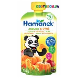 Детское пюре Hame Hamanek Pouch яблоко и тыква (с 5-ти мес.) 120 г