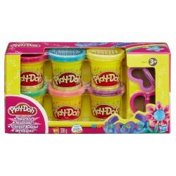 Набор пластилина Play-Doh Блестящая коллекция Hasbro А5417