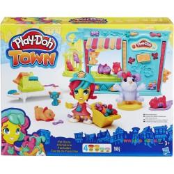 Набор пластилина Магазин домашних питомцев Hasbro В3418
