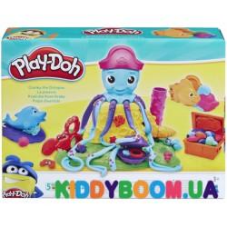 Игровой набор Play-Doh Веселый осьминог Hasbro Е0800