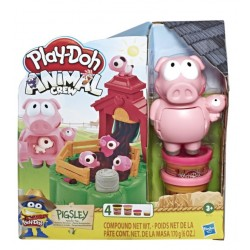 Игровой набор с пластилином Play Doh Озорные поросята Hasbro Е6723