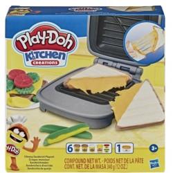 Набор для творчества с пластилином Play-Doh Hasbro Е7623 Сырный сэндвич