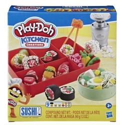 Игровой набор с пластилином Play Doh Суши Hasbro Е7915