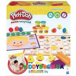 Игровой набор Play-Doh Буквы и язык Hasbro С3581