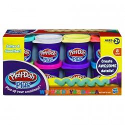 Набор пластилина из восьми баночек Play-Doh Plus Hasbro A1206