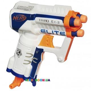 Бластер Hasbro NERF ELITE TRIAD EX-3 A1690