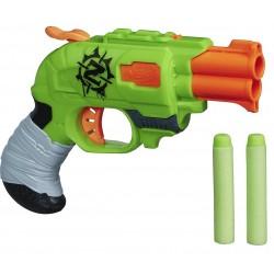 Бластер NERF Двойной удар серии Зомби Страйк Hasbro A6562