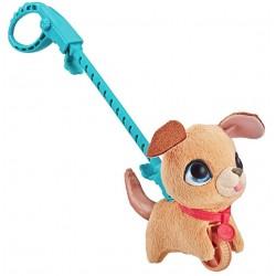 Мягкая интерактивная игрушка Питомец на поводке Щенок DOG А Hasbro E4765