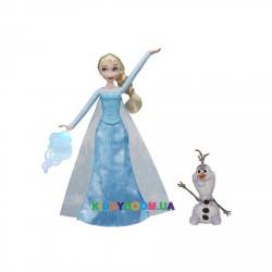 Модная кукла Эльза с Олафом Hasbro E0085