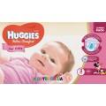 Подгузники Huggies Ultra Comfort 3 для девочек (5-9 кг) 56 шт.
