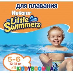 Трусики - подгузники для плавания Huggies Little Swimmers 5-6 (12-18 кг) 11 шт