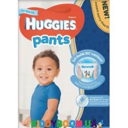 Трусики-подгузники для мальчика Huggies PANTS 5 Mega (12-17 кг) 34 шт