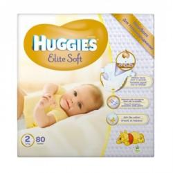 Подгузники Huggies Elite Soft Newborn 2 (4-7 кг) 80 шт.