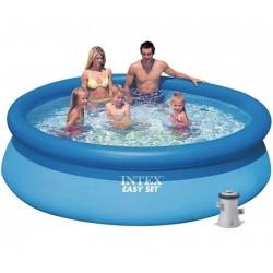 Надувной бассейн Intex 28122 Easy Set 305 х 76 см с фильтром и насосом