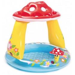 Детский надувной бассейн Гриб с надувным дном 102×89 см Intex 57114NP