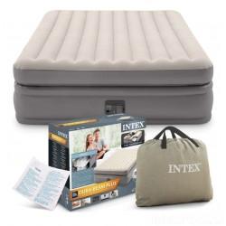 Надувная велюровая кровать Intex 64164 203 х 152 х 51 см
