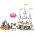Конструктор «Волшебный замок Золушки» серия «Princesses» JVToy 15009