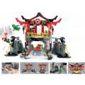 Конструктор Храм воскресения, серия Герои ниндзя JVToy 16009
