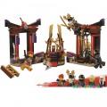 Конструктор «Зал для коронации» серия «Ninja Heroes» JVToy 16018
