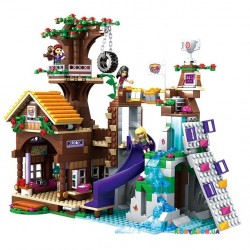 Конструктор «Дом на дереве» серия «New Friends» JVToy 18001