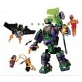 Конструктор Битва с роботом Лекса Лютора JVToy 22002