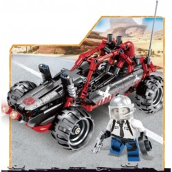 Конструктор Пустынный багги серия Чудесный город JVToy 24008