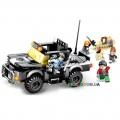 Конструктор «Полицейский Джип» серия «Wonderful City» JVToy 24009