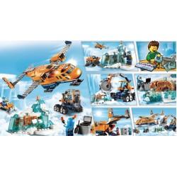 Конструктор Арктическая экспедиция, серия Чудесный город JVToy 24011