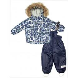 Зимний термокомплект куртка и полукомбинезон для мальчика Joiks р.74-98