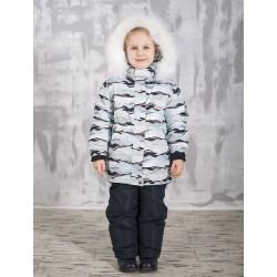 Зимняя термо куртка-парка для девочки Joiks р.104-134