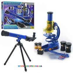 Набор оптических приборов: телескоп и микроскоп CQ-031