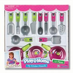 Набор посуды Моя кухня 16 предметов Keenway 21682
